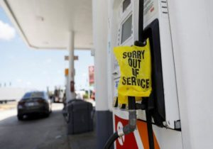 کمبود بنزین در آمریکا؛ هجوم ساکنان واشنگتن به جایگاههای سوخت