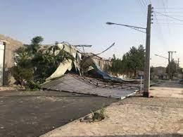 خسارت یک میلیارد تومانی طوفان به شبکه برق جیرفت