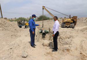 بازدید مدیر منطقه خلیج فارس از مسیر خط گوره – جاسک