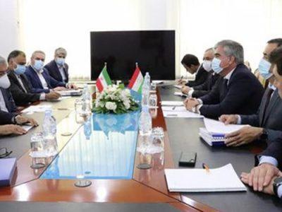 توسعه همکاری محور رایزنی وزیر نیرو ایران با مقامات تاجیکستان