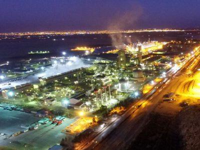 ثبت رکورد تولید در پتروشیمی شیراز