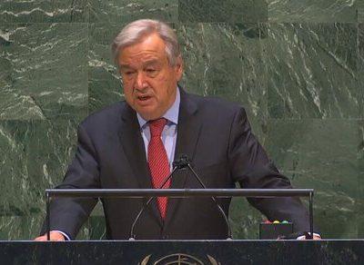 گوترش خواستار لغو تحریمها علیه ایران شد