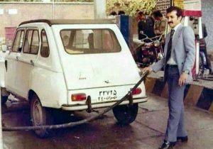 تصویری از پمپبنزین تهران که ویرال شد! +عکس