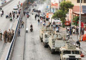 افزایش اعتراضات مردمی در پی انصراف سعد حریری از تشکیل دولت لبنان