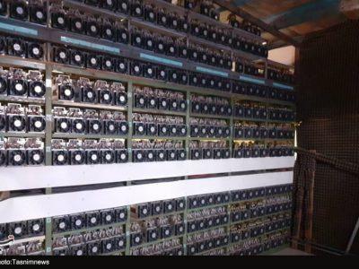 کشف ۱۳۱ دستگاه ماینر غیرمجاز از یک خانه در یاسوج