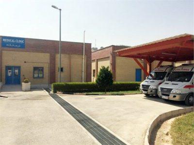 تأمین تجهیزات درمانگاهی در فاز ۱۳ پارس جنوبی
