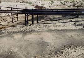 پاکسازی آلودگی نفتی گلخاری گناوه
