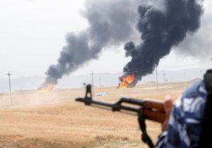 حمله به یک چاه نفت در شمال عراق
