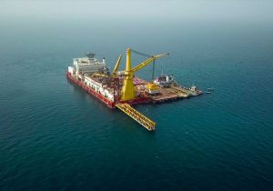 لولهگذاری دریایی طرح پایانه نفتی جاسک تکمیل شد