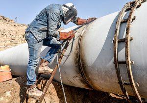 افزایش پایداری انتقال گاز در خط لوله دوم تهران