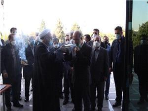محرابیان وارد وزارت نیرو شد