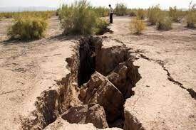 همه ۵۰۰ دشت دارای آب شیرین کشور با خطر فرونشست مواجهند