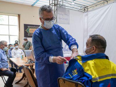 کل کارکنان ۴ شرکت اصلی وزارت نفت دوز نخست واکسن را دریافت کردند