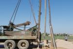 عملیات حفاری ۱۱۴ چاه مشاهدهای در خوزستان