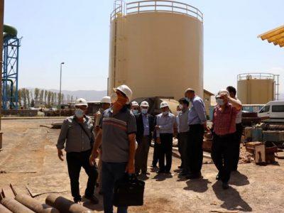 بازدید کارشناسان صنعت برق سوریه از نیروگاه لوشان