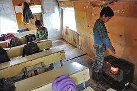 وجود ۱۰۰ کلاس درس با بخاری نفتی در چهارمحال و بختیاری
